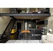 Industrial Loft Design With Brick Like Walls  DigsDigs