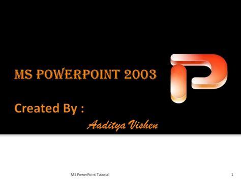 linkedin tutorial powerpoint ms power point 2003 by aditya