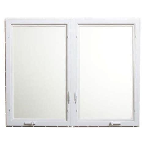 awning windows home depot tafco windows white vinyl casement window with screen