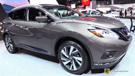 2017 nissan murano platinum interior 2017 nissan murano platinum exterior and interior
