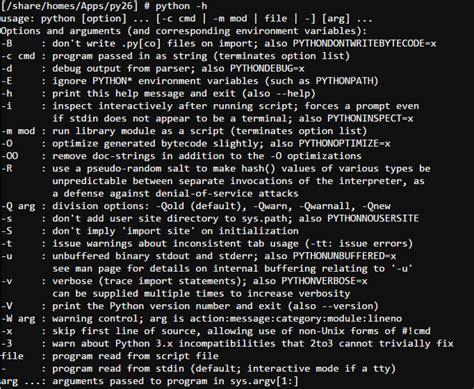 tutorial python getopt ilearnblogger qnap linux python programming 03 command