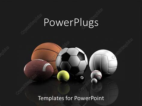 volleyball templates for powerpoint powerpoint template basketball football tennis