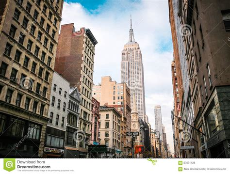 Cityscape Wall Murals empire state building editorial photo image 57671426