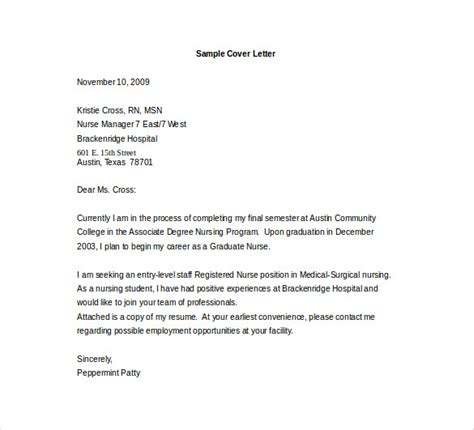 entry level cover letter template 10 free pdf documents