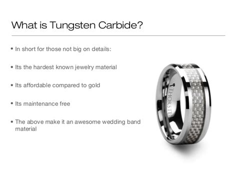 What Is Wedding by What Is Tungsten Carbide