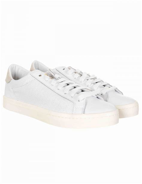 adidas originals court vantage shoes footwear white
