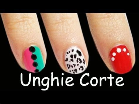 6 nail art tutorial facili unghie corte 3 nail art tutorial facili per unghie corte how to save