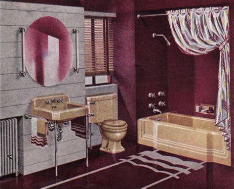 eggplant bathroom 1941 american standard bathroom mid century design