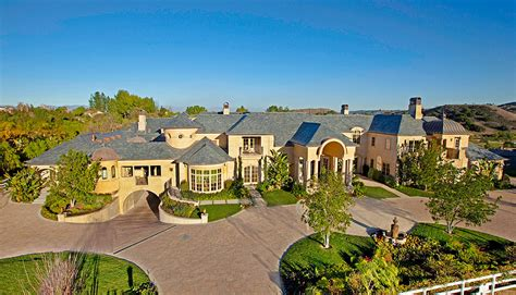 Huge Mansion Floor Plans by Extraordinary French Normandy Estate In Hidden Hills