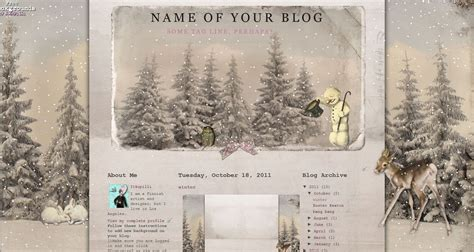 winter templates for blogger cute n cool blog accessories winter header for 3