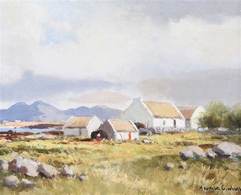 Connemara Cottages by Connemara Cottages By Maurice Canning Wilks Arha Rua