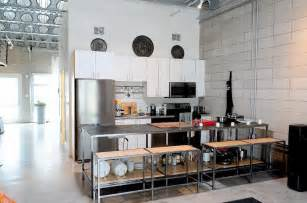 Industrial Kitchens Design White Industrial Kitchen