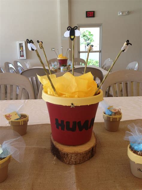 winnie the pooh baby shower centerpiece ideas pin by anguiano rincon on baby showers