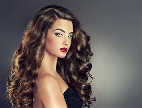 hairstyles large curls types of perm hairstyles to try this season