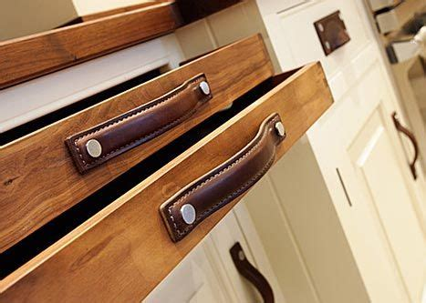 masculine leather drawer pulls  turnstyle designs strap cabinet handles collection leather