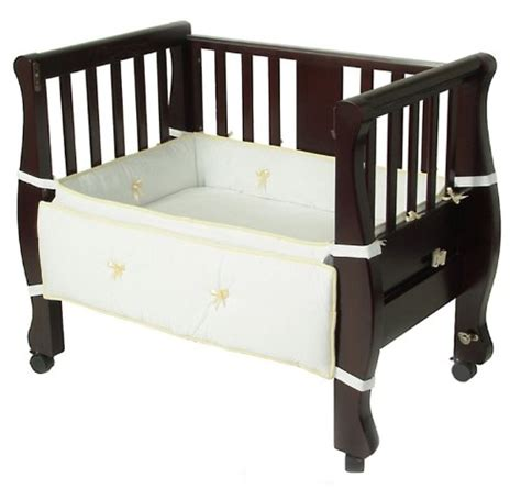 Arm S Reach Co Sleeper Reviews by Arm S Reach Co Sleeper Bassinet Sleigh Bed Expresso In