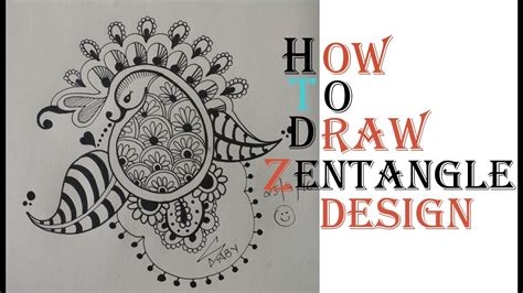 how to draw doodle for beginner how to draw complex zentangle design for beginners
