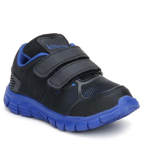 kittens black sports shoes for price in india buy