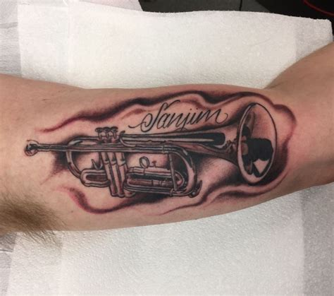 trumpet tattoo best 25 trumpet ideas on trumpets