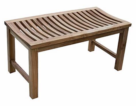 outdoor shower bench 36 quot solid teak indoor outdoor shower bench teak patio