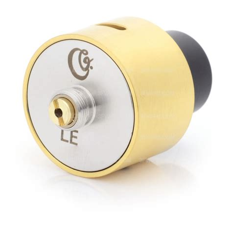 Lsd Le 86 24 Rda Stainless Edition le 86 bf style golden rda rebuildable atomizer w bottom