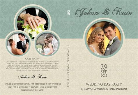 wedding dvd cover template wedding dvd cover and dvd label template vol 8 by