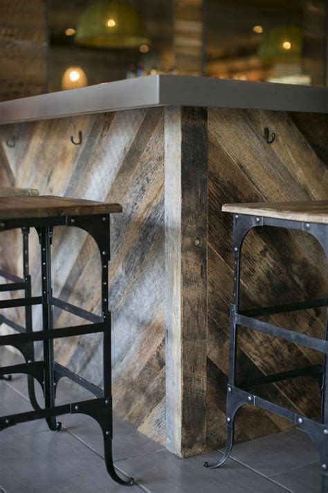 idea for wood metal mix decorations 25 best ideas about wooden bar stools on pinterest diy