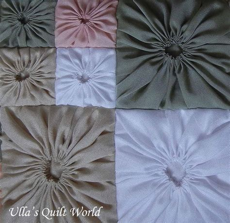 pattern for yo yo quilt ulla s quilt world square yo yo pattern quilted pillowcase