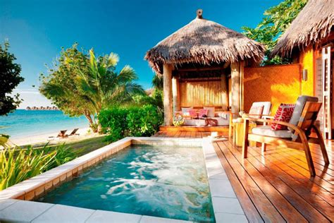 bungalow overwater in fiji islands yfgt over water bungalows and villas on the water in fiji