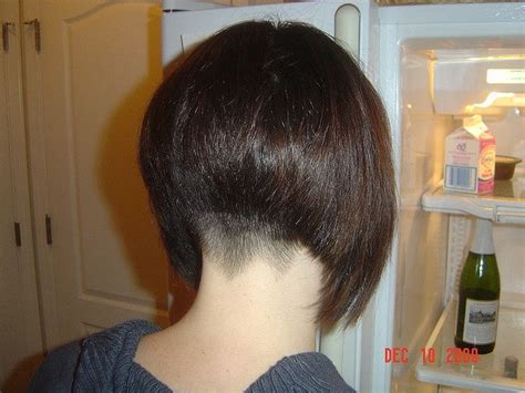 short stack cut in the nap of the back back 255 best images about bob with nape on pinterest aline