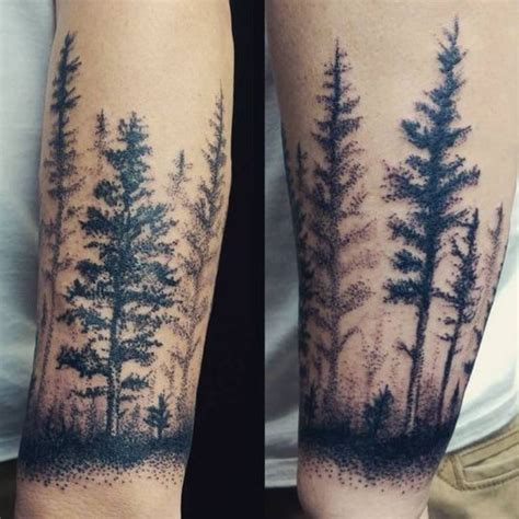fir tree tattoo the gallery for gt forearm tree tattoos