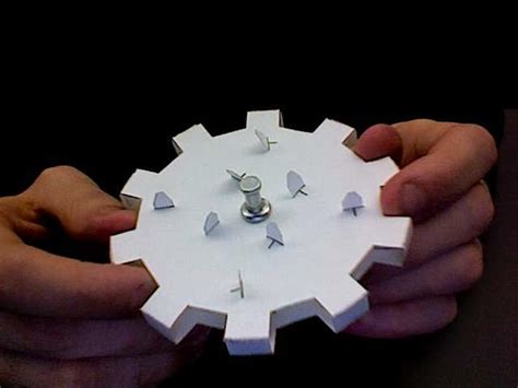 How To Make Paper Gears - how to working gears from junk mail make