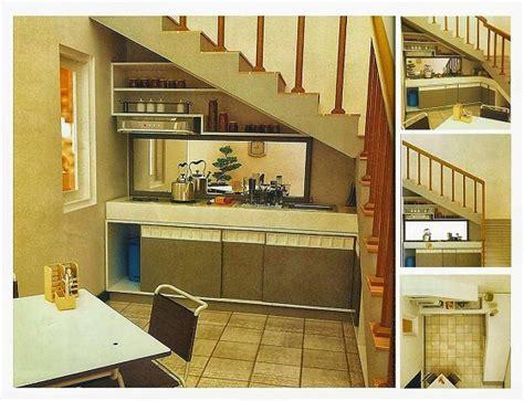 design dapur kecil dibawah tangga harga kitchen set minimalis murah info bisnis properti