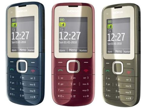 Hp Nokia 2201 nokia c2 00 phone photo gallery official photos