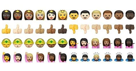 emoji evolution whatsapp has now introduced coloured emoji and there s def