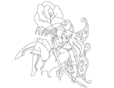 tattoo outline printer fairy tattoo outline by wolf100185 on deviantart
