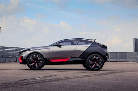 peugeot concept cars peugeot quartz concept cars peugeot design lab