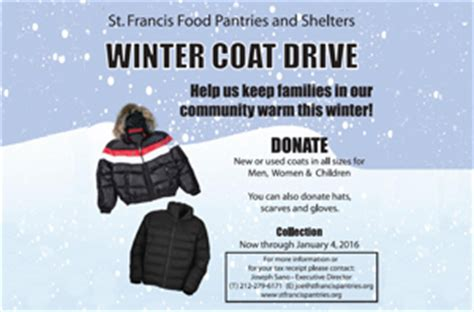 st francis food pantries shelters drives 2015