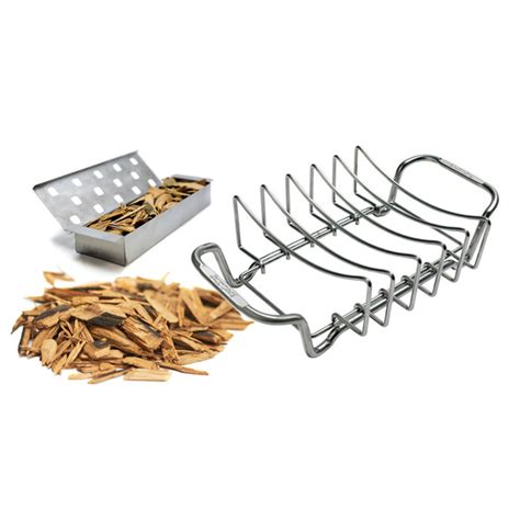 barbecue rib rack kit