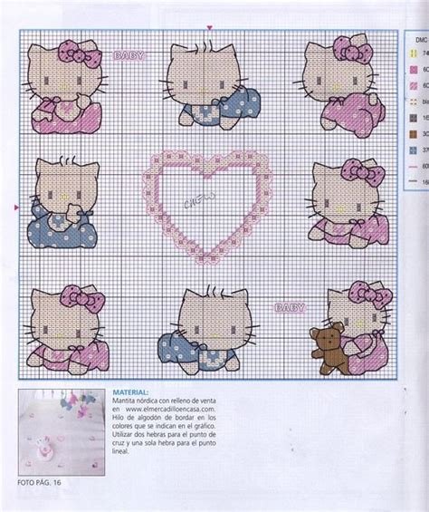 hello kitty cross stitch hello kitty kitty and hello kitty baby on pinterest