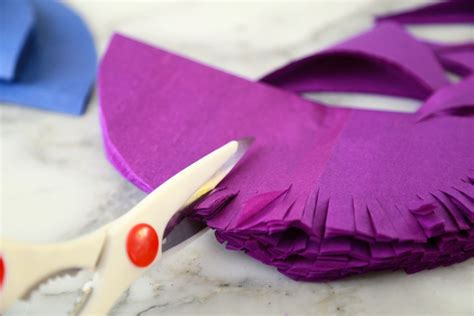 Fold Out Paper Decorations - high impact paper flowers the easy way ilovetocreate
