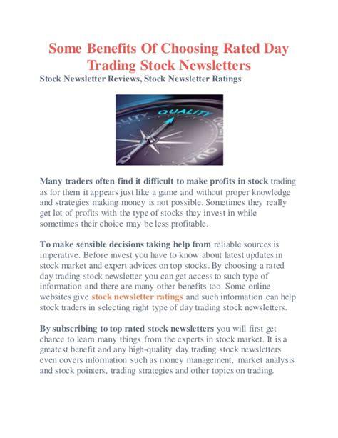 best stock newsletters best options trading newsletter