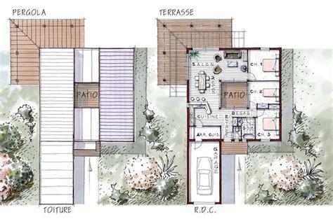 maison iris 96 m 178 avec patio in 233 rieur terrasse et 3 chambres