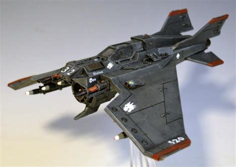 Md Aquila Navy fighter flyer forge world lightning voss lightning