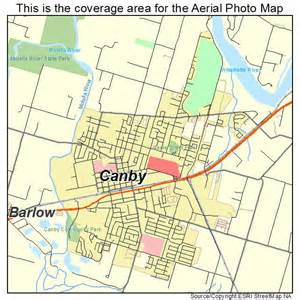 map of canby oregon aerial photography map of canby or oregon