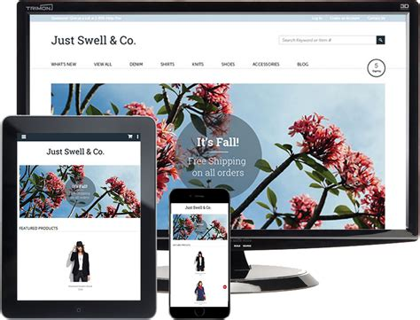 html5 mobile justswell html5
