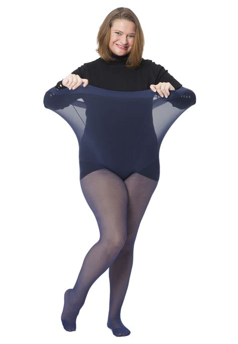 Stoking Sorella All Size pre order 15 denier sheer tights wrap plus size clothing
