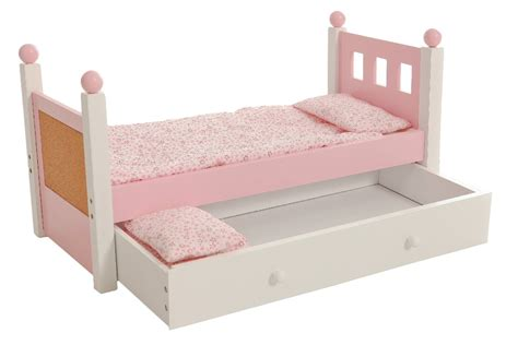 American Girl Doll Trundle Bed Doll Bed With Trundle Fits American Trundle Bed