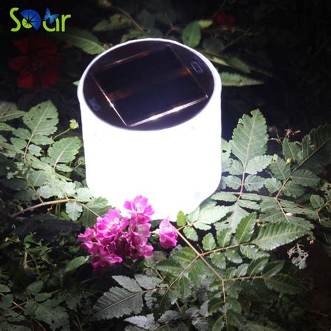 2017 hot sale 10led solar powered foldable inflatable