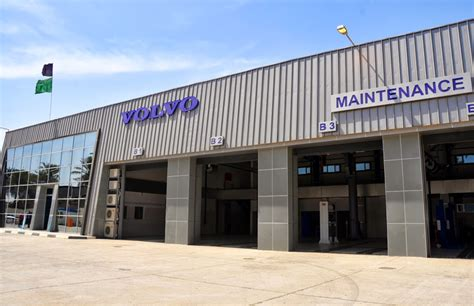 volvo truck repair locations volvo trucks inaugurates iraq service centres